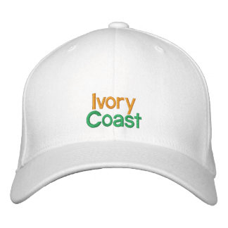 Ivory Coast  - Côte d'Ivoire Embroidered Hat
