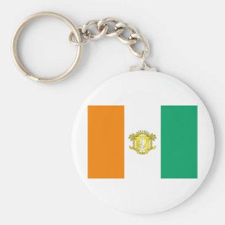 Ivory Coast - Côte d'Ivoire Keychain