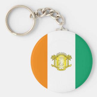 Ivory Coast - Côte d'Ivoire Key Chain