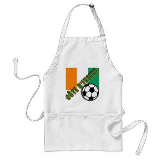 IVORY COAST COTE D'IVOIRE Soccer Fan Tshirts Apron
