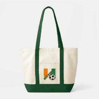 IVORY COAST COTE D'IVOIRE Soccer Fan Tshirts Canvas Bags