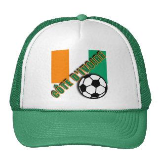 IVORY COAST COTE D'IVOIRE Soccer Fan Tshirts Hats