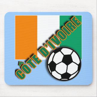IVORY COAST COTE D'IVOIRE Soccer Fan Tshirts Mouse Mats