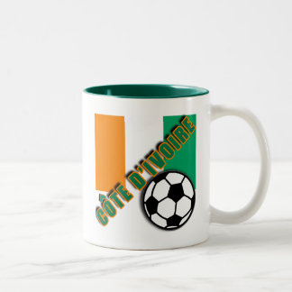 IVORY COAST COTE D'IVOIRE Soccer Fan Tshirts Two-Tone Coffee Mug
