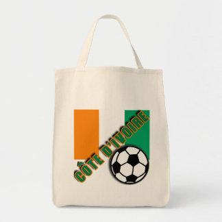 IVORY COAST COTE D'IVOIRE Soccer Fan Tshirts Bag