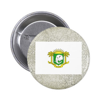 Ivory Coast Flag 6 Cm Round Badge