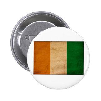 Ivory Coast Flag Buttons