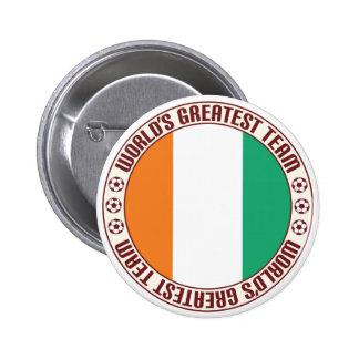 Ivory Coast Greatest Team 6 Cm Round Badge