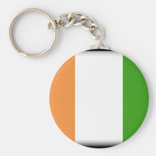Ivory Coast Key Chain
