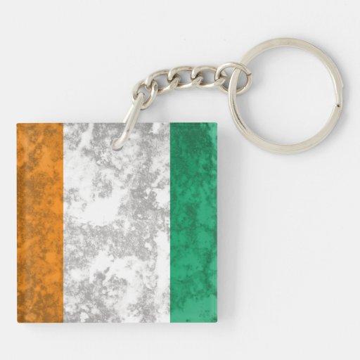Ivory Coast Acrylic Key Chain
