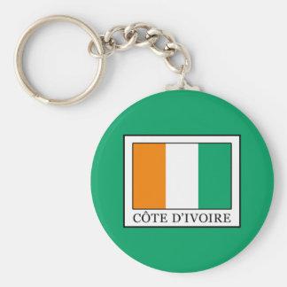Ivory Coast Key Ring