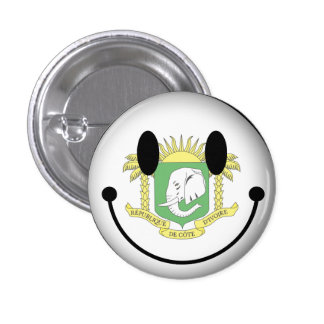 Ivory Coast Smiley Buttons