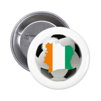 Ivory Coast soccer 6 Cm Round Badge