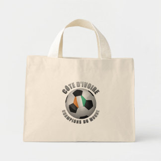 IVORY COAST SOCCER CHAMPIONS CANVAS BAGS