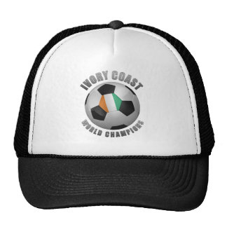 IVORY COAST SOCCER CHAMPIONS HAT