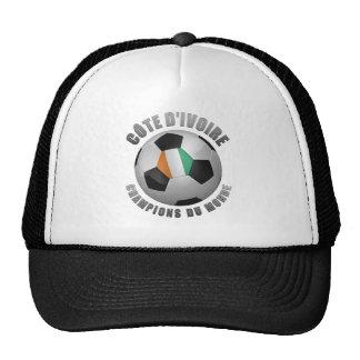 IVORY COAST SOCCER CHAMPIONS MESH HATS