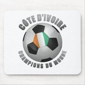 IVORY COAST SOCCER CHAMPIONS MOUSE PADS