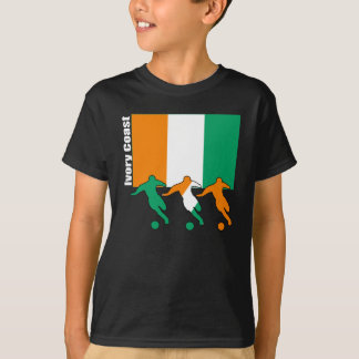 Ivory Coast - Soccer Players T-Shirt