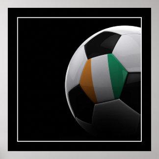Ivory Coast Soccer - POSTER