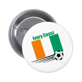 Ivory Coast Soccer Team Pinback Buttons