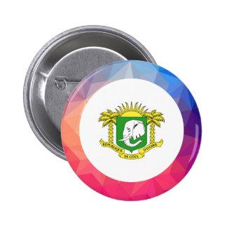 Ivory Coast Souvenir 6 Cm Round Badge