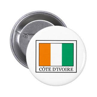 Ivory Coast sticker 6 Cm Round Badge