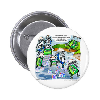 Ivory Coast Surprise Funny Gifts Tees & Cards 6 Cm Round Badge