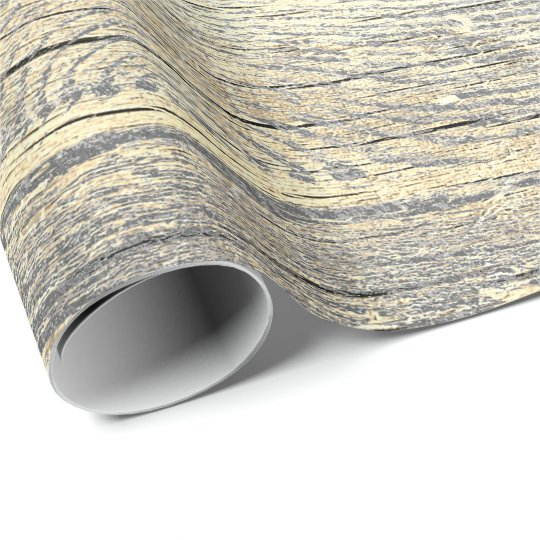 Ivory Foxier Metallic Shabby Gray Gold Wood Rustic