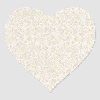 Ivory Lace Sticker