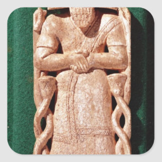 Ivory plaquette of a god sticker