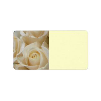 Ivory Rose Mailing Labels