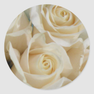Ivory Rose Stickers