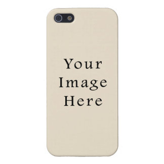 Ivory Sand Tan Color Trend Blank Template Cases For iPhone 5