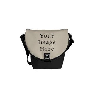 Ivory Sand Tan Color Trend Blank Template Messenger Bag
