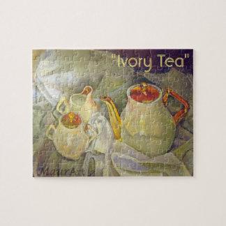 Ivory Tea Jigsaw Puzzle