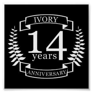 Wedding Anniversary Gift Ideas 14 Years : 14 Year Anniversary GiftsT-Shirts, Art, Posters & Other Gift Ideas ...