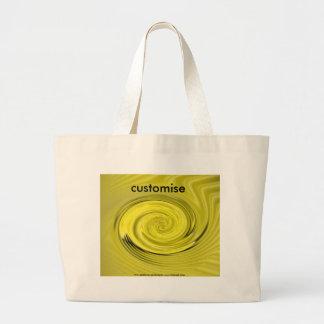 IvoryVortex tote Jumbo Tote Bag