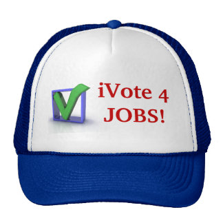 iVote 4 JOBS! Cap