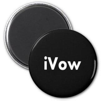 iVow 6 Cm Round Magnet