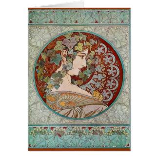 IVY 1901 CARD