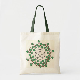 Ivy And Pentacle Tote Bag