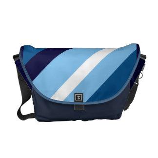 Ivy Blue Striped Commuter Bag