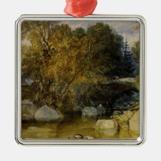 Ivy Bridge, Devonshire by William Turner Christmas Ornament