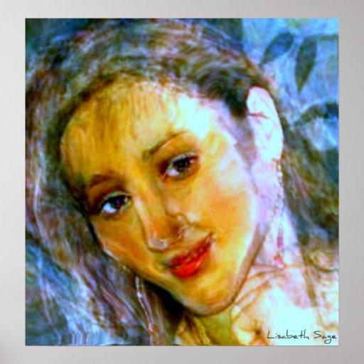 """Ivy"" by Lisabeth Sage Print"