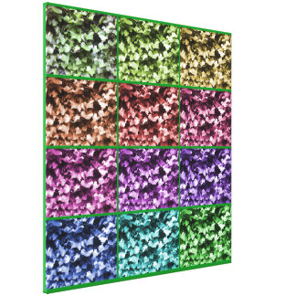 Ivy Colour Progression 1 Wrapped Canvas - Large