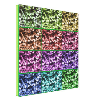Ivy Colour Progression 1 Wrapped Canvas - Small