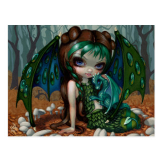 """Ivy Dragonling"" Postcard"