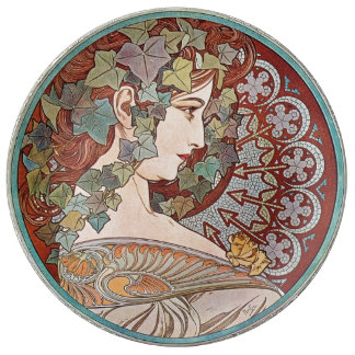 Ivy godess plate
