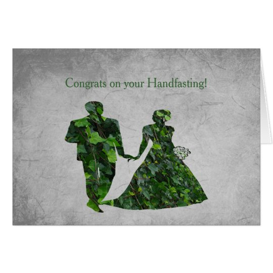 Ivy Green Man & Green Lady Handfasting Blessings