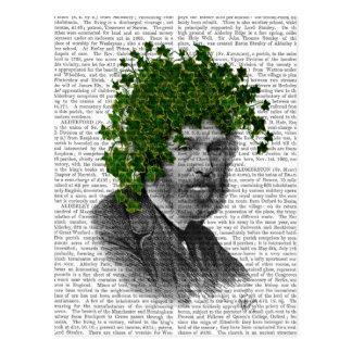 Ivy Head Plant Head Postcard